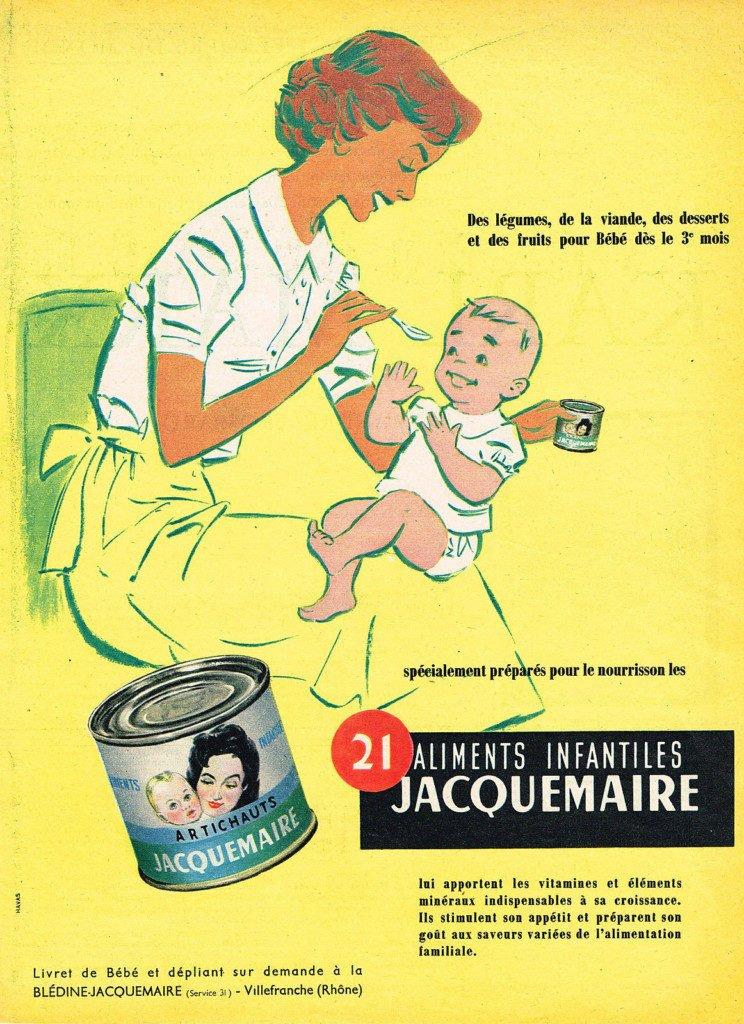 JACQUEMAIRE aliments infantiles